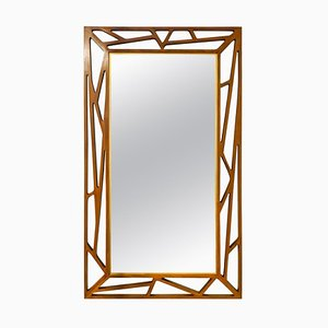 Large Mid-Century Konkret Mirror by Yngve Ekström for Eden Mirror, Sweden
