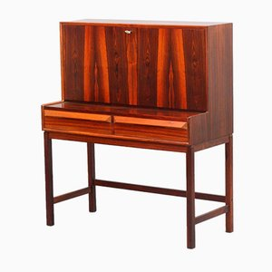 Rosewood Folding Secretaire by Dyrlund, 1960s
