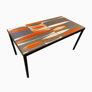 Tavolino da caffè di Roger Capron, anni '60