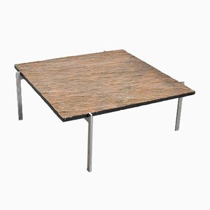 PK61 Coffee Table by Poul Kjærholm for E. Kold Christensen, Denmark, 1960s