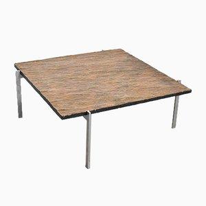 Table Basse PK61 par Poul Kjærholm pour E. Kold Christensen, Danemark, 1960s