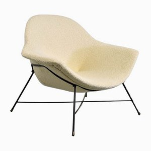 Lounge Chair by Augusto Bozzi for Saporiti Italia, 1950s