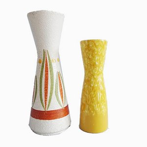 Mid-Century Vases from Scheurich, Set of 2