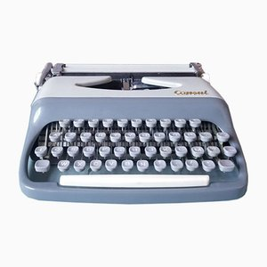 Macchina da scrivere vintage di Console, anni '50