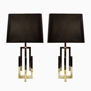 Table Lamps by Romeo Rega, 1970s, Set of 2
