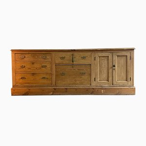 Antique Country House Pine Dresser Sideboard