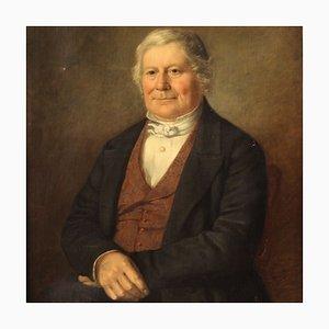 Antico ritratto di A Gentleman, Regno Unito, XIX secolo