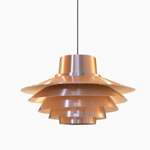 Lampe à Suspension Verona par Svend Middelboe pour Nordisk Solar