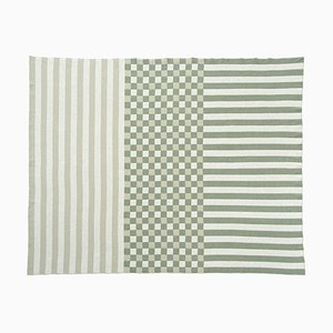 Checked-stripes Blanket by Roberta Licini
