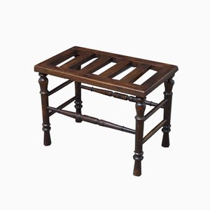 Victorian Walnut Luggage Rack from Norton & Co.