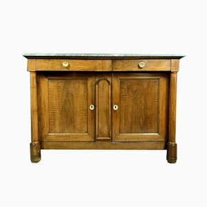 Empire Style Solid Walnut Buffet, 1910s