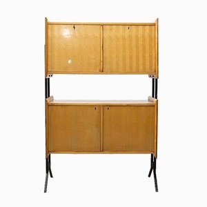 Mid-Century Rationalist 2-Storey Sideboard, 1950s