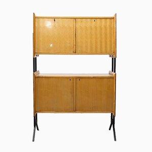 Rationalistisches Mid-Century 2-stöckiges Sideboard, 1950er