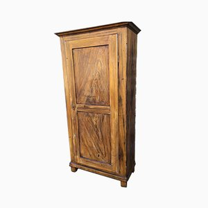 Antique French Fir Wardrobe