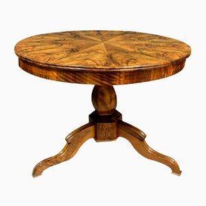 Louis Philippe Pedestal Console Table, 1830s