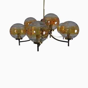 Murano Glass Globe Chandelier, 1960s