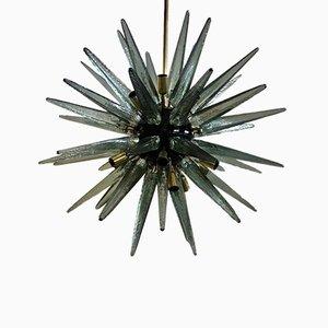 Mid-Century Italian Murano Glass Chandelier, 1970