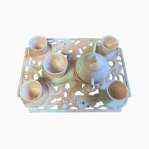 Antique Chinese Tea Set, Set of 6