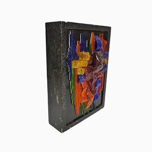 Md-Century Space Age Cubist Sconce, 1970s
