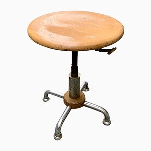 Industrial Stool from Bigla, 1940s
