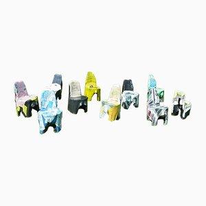 Recycling Side Chairs by Beata Bär, Gerhard Bär, Hartmut Knell for Bär + Knell, 2000s, Set of 8