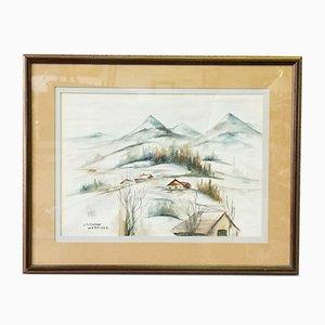 Landscape Under the Snow von De Vera Petrova Wespiser
