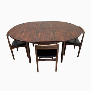 Vintage Rosewood Dining Set from Nathan, 1960s