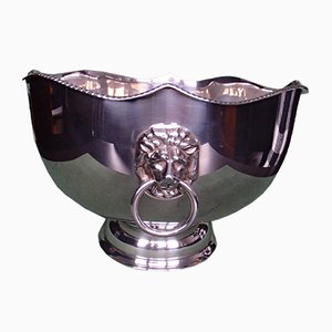 Vintage Champagne Bucket or Wine Cooler with Lionheads