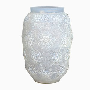 Opalescent Glass Vase from Lalique