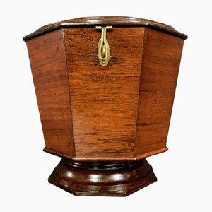 Tea Box with Wooden Inlay