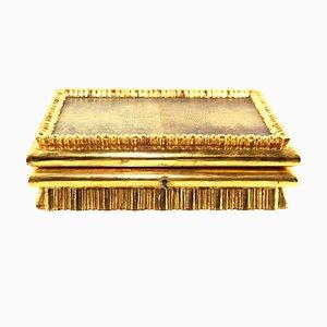 Antique Gold Leaf Gilded Box by Peche Dagobert for Max Welz, 1915