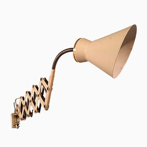 Sconce with Brass Beige Top from Stilnovo, 1950s