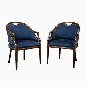 Armlehnstühle, 1950er, 2er Set