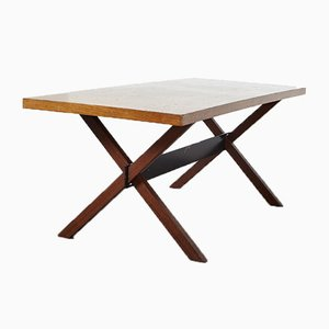 Modernist Wenge Dining Table from Metz & Co., 1960s