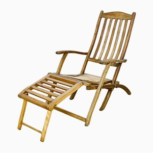 Antique Edwardian Deck Chair