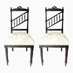 Palisander Esszimmerstühle, 2er Set