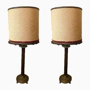 Tischlampen, 1960er, 2er Set