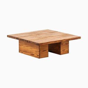 Finnischer Couch- oder Beistelltisch aus Holz von Ilmari Tapiovaara für Laukaa