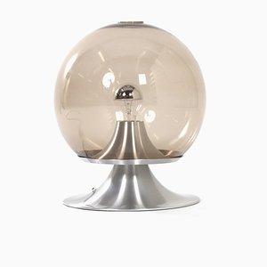 Große Dream Island Rauchglas Tischlampe von Raak Amsterdam, 1960er