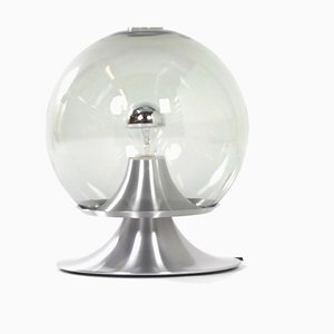 Large Transparent Glass Table Lamp Dream Island from Raak Amsterdam, 1961