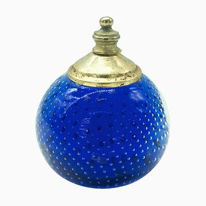 Murano Glass and Brass Paperweight, 1960s