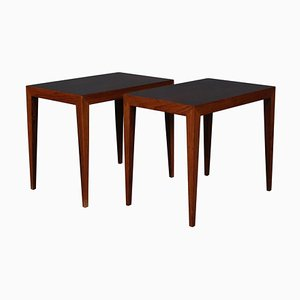 Side Tables or Bedside Tables Set by Severin Hansen