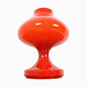 Red All Glass Table Lamp by Stefan Tabery, 1960s