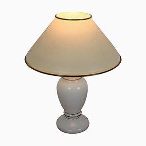 Mid-Century Glass Tischlampe, 1970er Jahre