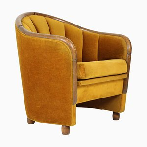 Italian Armchair in the Style of Gio Ponti, 1950s