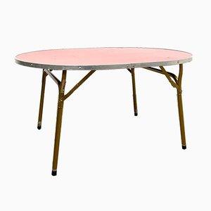 Vintage Foldable Height Adjustable Table Lafuma