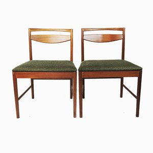 Mid-Century Teak Esszimmerstühle von Tom Robertson für Mcintosh, 1960er, 2er Set