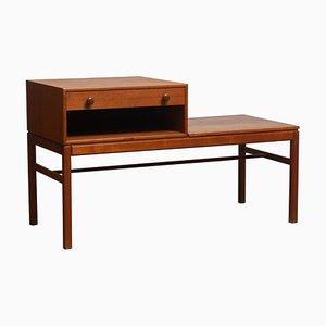 Teak Drawer Side Table by Engstrom & Myrstrand Bra Boga for Tingströms, 1960s