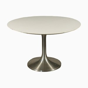 Vintage Table in Formica and Chromed Metal, Italy