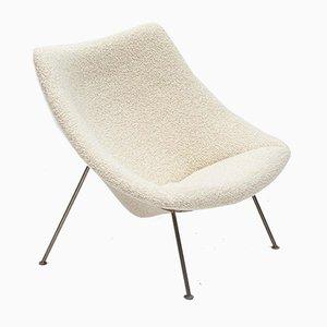 Großer Oyster Sessel aus Chunky Bute Bouclé von Pierre Paulin & Tom Dixon für Artifort, 1960er